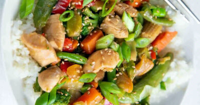 Mixed Chicken Vegetables